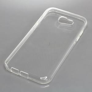 Silikon Crystal Case Ultra Transparente Schutzhülle für Samsung Galaxy A7 (2017)