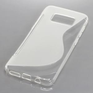 Silikon Case Schutzhülle für Samsung Galaxy S8 S-Curve transparent