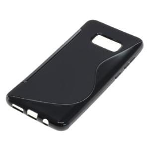 Silikon Case Schutzhülle für Samsung Galaxy S8 Plus S-Curve schwarz