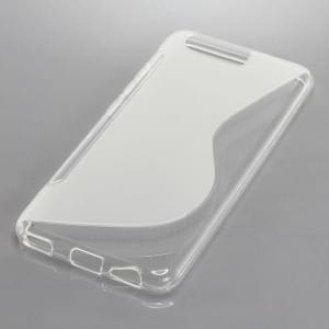 Back Cover Case / Schutzhülle für Huawei P10 S-Curve transparent