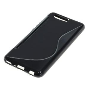 Silikon Case / Schutzhülle für Huawei P10 Plus S-Curve schwarz