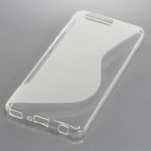 Back Cover Case / Schutzhülle für Huawei P10 Plus S-Curve transparent