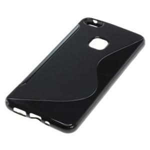 Silikon Case / Schutzhülle für Huawei P10 Lite S-Curve schwarz