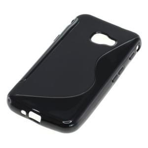 TPU Silikon Case / Schutzhülle für Samsung Galaxy XCover 4 S-Curve schwarz