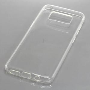 Silikon Crystal Case Schutzhülle für Samsung Galaxy S8 voll transparent