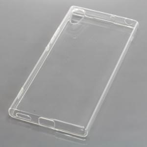 Silikon Crystal Case Schutzhülle für Sony Xperia XA1 voll transparent