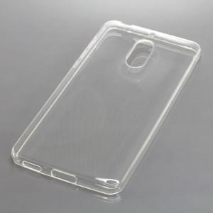 Silikon Crystal Case Schutzhülle für Nokia 6 voll transparent