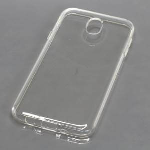 Silikon Crystal Case Ultra Transparente Schutzhülle für Samsung Galaxy J7 (2017) SM-J730