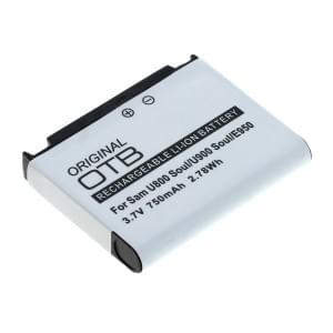 Ersatzakku für Samsung U800 Soul / U900 Soul / SGH-E950 / SGH-L170 Li-Ion