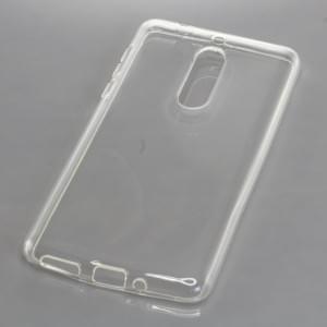 Silikon Crystal Case Ultra Transparente Schutzhülle für Nokia 5 voll transparent
