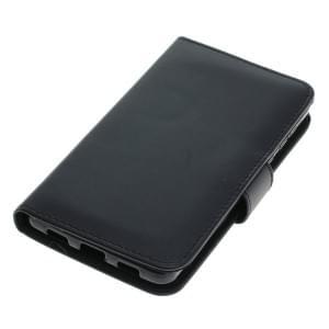 Handytasche Ledertasche PU Leder für Huawei Honor 6 Bookstyle schwarz