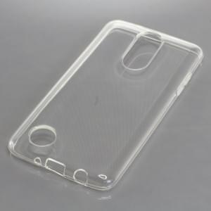 Silikon Crystal Case Ultra Transparente Schutzhülle für LG K8 (2017) voll transparent