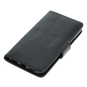 Handytasche Ledertasche PU Leder für Apple iPhone X Bookstyle schwarz