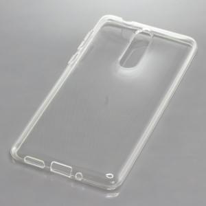 Silikon Crystal Case Ultra Transparente Schutzhülle für Nokia 8 voll transparent