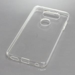 Silikon Crystal Case Ultra Transparente Schutzhülle für LG V30 voll transparent