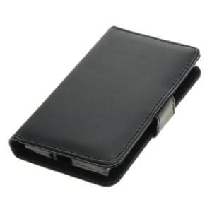 Handytasche (Kunstleder) für Sony Xperia XZ1 Compact Bookstyle schwarz
