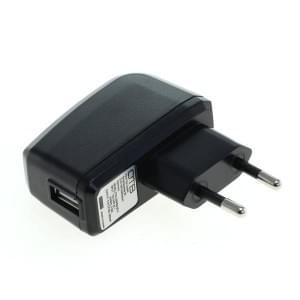 Reise Ladegerät Ladeadapter USB - 1A - schwarz