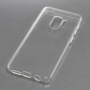 TPU Silikon Case / Schutzhülle für Samsung Galaxy S9 voll transparent