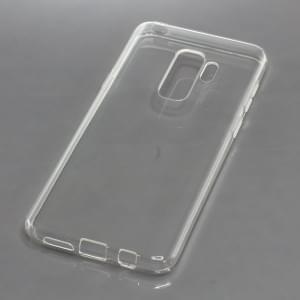 TPU Silikon Case / Schutzhülle für Samsung Galaxy S9+ Plus voll transparent