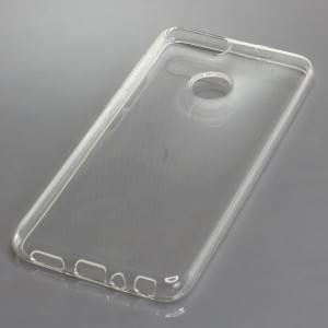 TPU Silikon Case / Schutzhülle für Huawei P Smart voll transparent