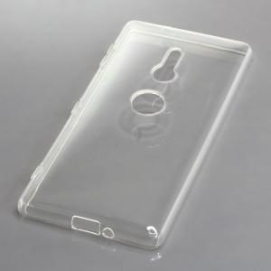 TPU Silikon Case / Schutzhülle für Sony Xperia XZ2 voll transparent