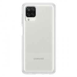 Original Samsung EF-QA125TTEGEU A12 Soft Clear Cover Transparent
