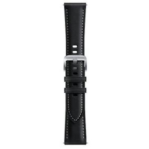 Original Samsung Armband Kalbsleder Galaxy Watch schwarz ET-SLR85SBEGEU