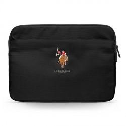 "US Polo Sleeve / Hülle / Tasche Tablet / Notebook 13"" Schwarz USCS13PUGFLBK"