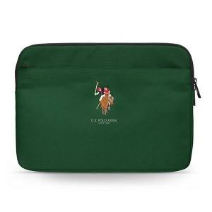"US Polo Sleeve / Hülle / Tasche Tablet / Notebook 13"" Grün USCS13PUGFLGN"