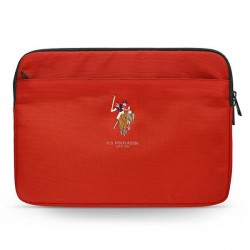 """US Polo Sleeve / Hülle / Tasche Tablet / Notebook 13"""" Rot USCS13PUGFLRE"""