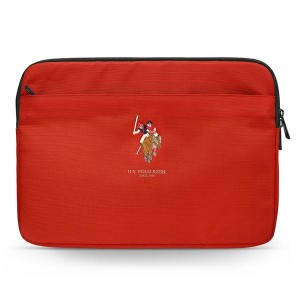 "US Polo Sleeve / Hülle / Tasche Tablet / Notebook 13"" Rot USCS13PUGFLRE"