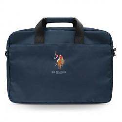 "US Polo Notebook / Laptop Tasche 15"" Blau USCB15PUGFLNV"