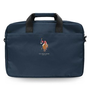 "US Polo Notebook / Laptop Tasche 15"" Blau USCB15PUGFLNV"