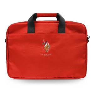 "US Polo Notebook / Laptop Tasche 15"" Rot USCB15PUGFLRE"
