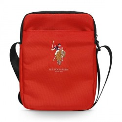 """US Polo Tablet Tasche 10"""" Universal Rot USTB10PUGFLRE"""