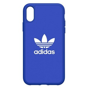 Adidas iPhone XR Hülle / Case / Cover Moulded Canvas Blau