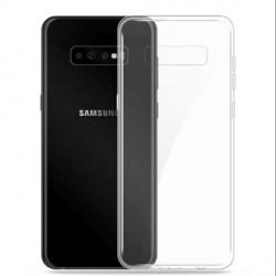 Samsung A20s Case Cover Hülle Slim Silikon Transparent 1mm