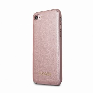Guess iPhone SE 2020 / iPhone 8 / 7 IriDescent Hülle / Cover Rosegold