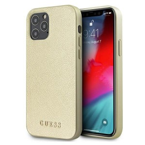 GUESS iPhone 12 Pro Max 6,7 Hülle Iridescent gold GUHCP12LIGLGO