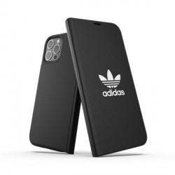 Adidas iPhone 12 Pro Max OR Booklet Case / Tasche BASIC schwarz / weiß