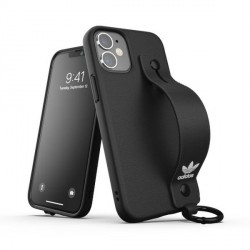 Adidas iPhone 12 / 12 Pro OR Hand Strap Case / Cover / Hülle schwarz
