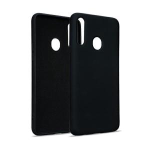 Premium Liquid Silicon Samsung A42 5G A426 Case Cover Hülle schwarz