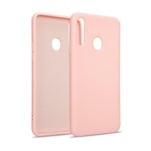 Premium Liquid Silicon Samsung S21 Case Cover Hülle rose gold