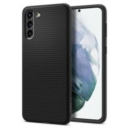 Spigen Samsung S21+ Plus Liquid Air Schwarz Case Cover Hülle