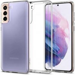 Spigen Samsung S21 Crystal Clear Hybrid Case Cover Hülle