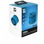 iFrogz Audio Coda Speaker Wireless bluetooth Blau