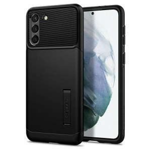 Spigen Samsung S21+ Plus Slim Armor Schwarz Case Cover Hülle