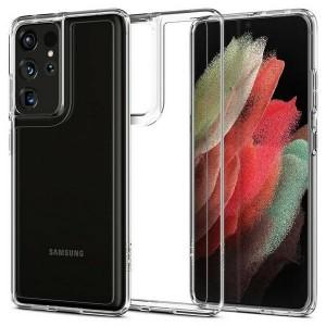 Spigen Samsung S21 Ultra Hybrid crystal clear Case Cover Hülle