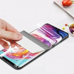 Keramik Schutzglas iPhone 12 Pro Max Flexible Hybrid Glas 9D / 9H