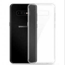 Samsung S21 Case Cover Hülle Slim Silikon Transparent 1mm